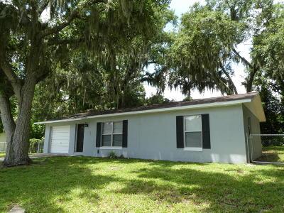 Daytona Beach Single Family Home For Sale: 760 Owasso Street