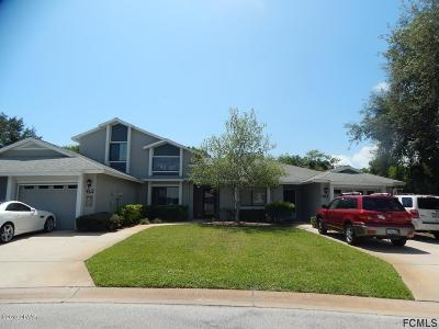 Palm Coast Condo/Townhouse For Sale: 60 Lake Forest Place