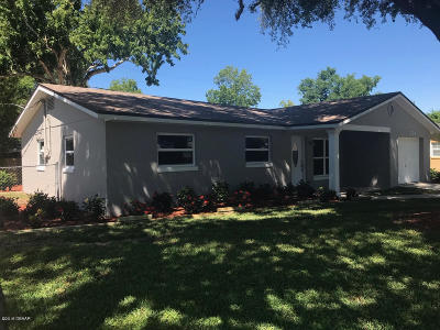 South Daytona Single Family Home For Sale: 1724 Western Road