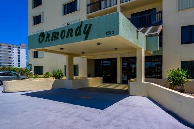 Volusia County Condo/Townhouse For Sale: 1513 Ocean Shore Boulevard #7B