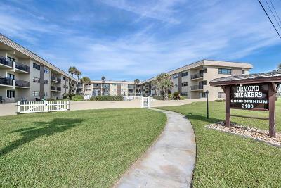 Ormond Beach Condo/Townhouse For Sale: 2100 Ocean Shore Boulevard #117