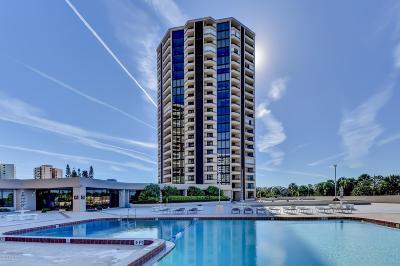 Daytona Beach Shores Condo/Townhouse For Sale: 1 Oceans W Boulevard #5B2
