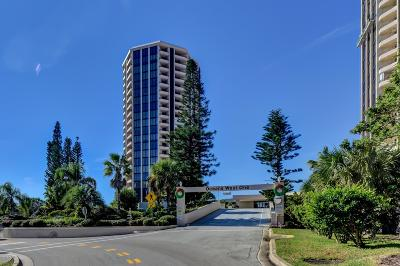 Daytona Beach Shores Condo/Townhouse For Sale: 1 Oceans W Boulevard #5A3
