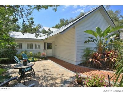 New Smyrna Beach Single Family Home For Sale: 202 N Peninsula Avenue