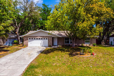Edgewater Single Family Home For Sale: 3015 Orange Tree Drive