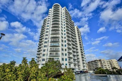 Daytona Beach Shores Condo/Townhouse For Sale: 2 Oceans West Boulevard #2002