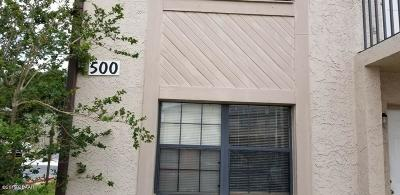 Daytona Beach Condo/Townhouse For Sale: 1290 9th Street #501