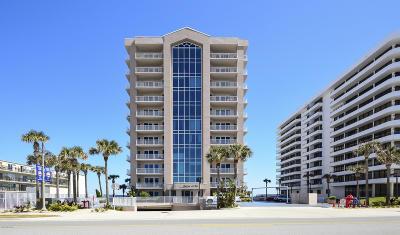 Daytona Beach Shores Condo/Townhouse For Sale: 3737 S Atlantic Avenue #204