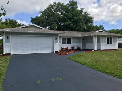Edgewater Single Family Home For Sale: 2131 Royal Palm Drive