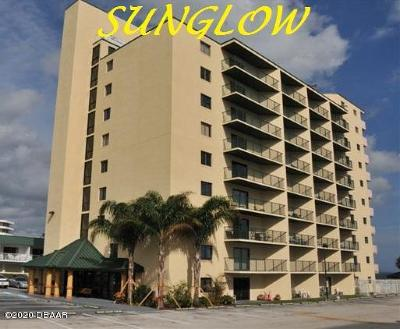 Daytona Beach Shores Condo/Townhouse For Sale: 3647 S Atlantic Avenue #3A