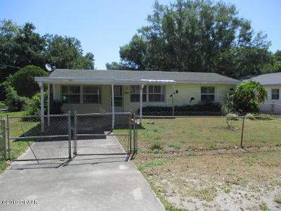 New Smyrna Beach Single Family Home For Sale: 909 Spruce Street