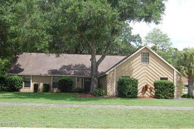 Daytona Beach, Daytona Beach Shores Single Family Home For Sale: 629 Pelican Bay Drive