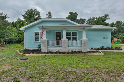 South Daytona Single Family Home For Sale: 321 Olive Street