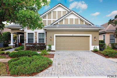Palm Coast Single Family Home For Sale: 24 Jasmine Drive