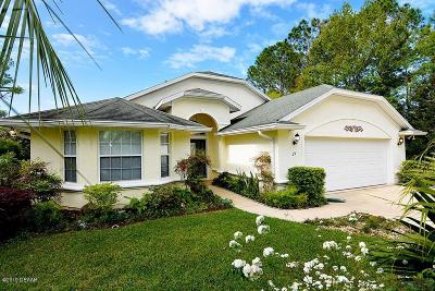 Palm Coast Single Family Home For Sale: 27 Whispering Pine Drive
