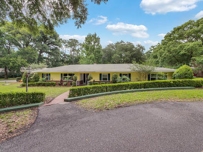 Deland  Single Family Home For Sale: 1701 Foelker Road