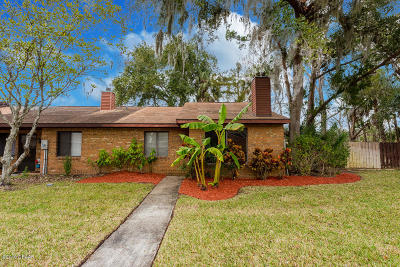 Holly Hill Single Family Home For Sale: 1521 Heritage Lane