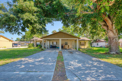 Port Orange Multi Family Home For Sale: 572 Taylor Road