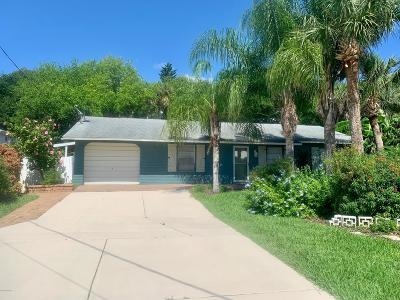 New Smyrna Beach Single Family Home For Sale: 836 Evergreen Street