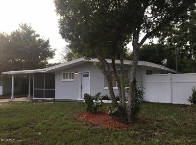 Daytona Beach Single Family Home For Sale: 1428 Alabama Avenue
