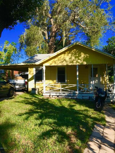 Daytona Beach Single Family Home For Sale: 164 Kingston Avenue