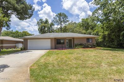 Palm Coast Single Family Home For Sale: 91 Foster Lane