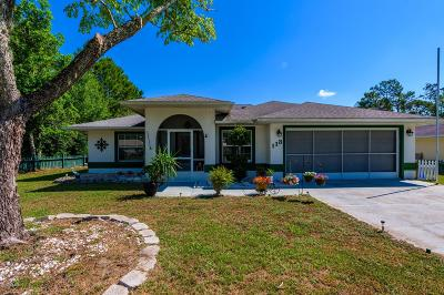 Palm Coast Single Family Home For Sale: 113 Rolling Sands Drive