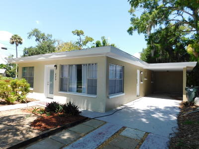 Daytona Beach Single Family Home For Sale: 646 Shady Place