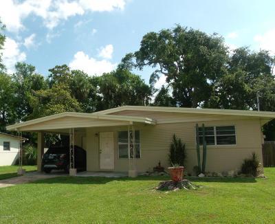 Holly Hill Single Family Home For Sale: 625 Magnolia Avenue