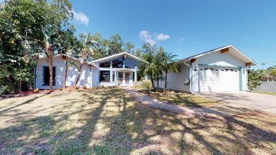 New Smyrna Beach Single Family Home For Sale: 2628 Sunset Drive