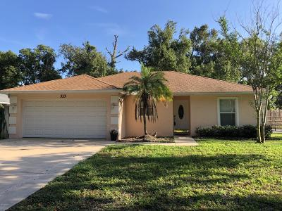 South Daytona Single Family Home For Sale: 333 Olive Street