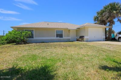 Flagler Beach Single Family Home For Sale: 605 N Central Avenue