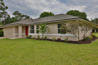 Palm Coast Single Family Home For Sale: 2 Radial Place