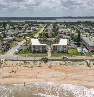 Volusia County Condo/Townhouse For Sale: 2780 Ocean Shore Boulevard #7S
