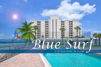 Volusia County Condo/Townhouse For Sale: 3831 S Atlantic Avenue #604
