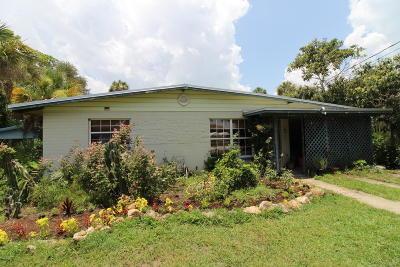New Smyrna Beach Single Family Home For Sale: 2608 Belmont Avenue