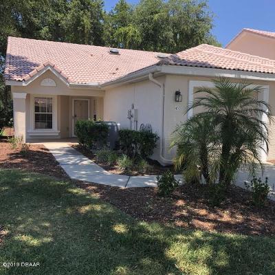 Port Orange Rental For Rent: 45 Golf Villa Drive