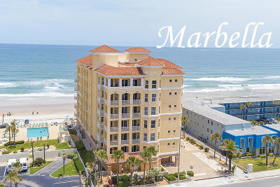 Daytona Beach Shores Condo/Townhouse For Sale: 3343 S Atlantic Avenue #304