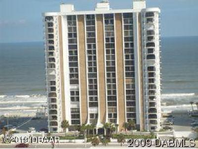 Daytona Beach Shores Condo/Townhouse For Sale: 3003 S Atlantic Avenue #10B3
