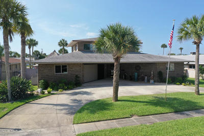 Ponce Inlet, South Daytona, Wilbur-by-the-sea Single Family Home For Sale: 137 Sea Isle Circle