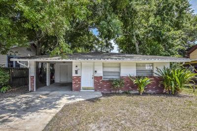 Daytona Beach Single Family Home For Sale: 335 Fairview Avenue