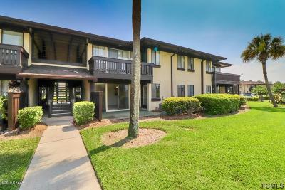 Palm Coast Condo/Townhouse For Sale: 54 Club House Drive #102