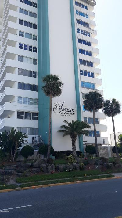 Daytona Beach Condo/Townhouse For Sale: 2800 N Atlantic Avenue #309