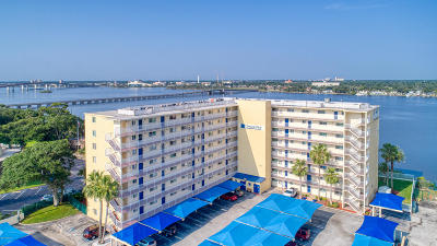 Daytona Beach Condo/Townhouse For Sale: 145 N Halifax Avenue #405