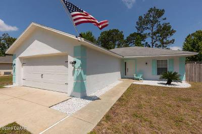 Palm Coast Single Family Home For Sale: 23 Pier Lane