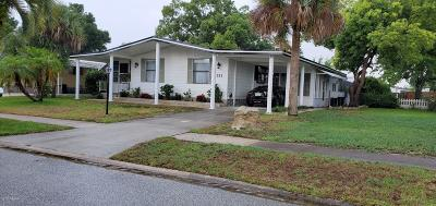 Port Orange Single Family Home For Sale: 751 Indian Hill Drive #II