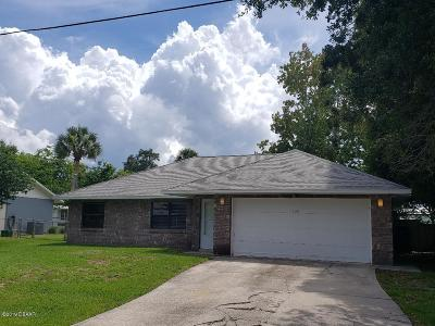 Daytona Beach Single Family Home For Sale: 1920 Donald Place