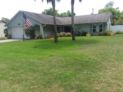 Edgewater Single Family Home For Sale: 1314 Queen Palm Drive