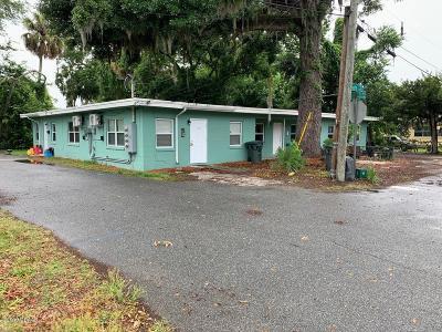 Daytona Beach Multi Family Home For Sale: 512 Maple Street
