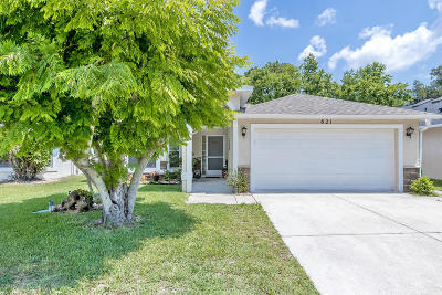 Port Orange Single Family Home For Sale: 821 Little Town Road